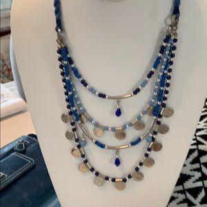 Blue Zad Necklace